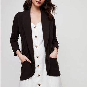 Aritzia Wilfred Chevalier blazer with satin lapels